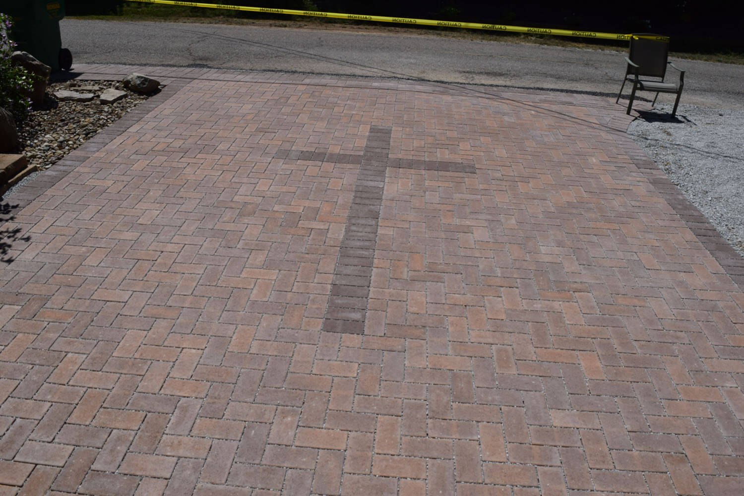 Permeable Driveway Day 4 Foegley Landscape Inc