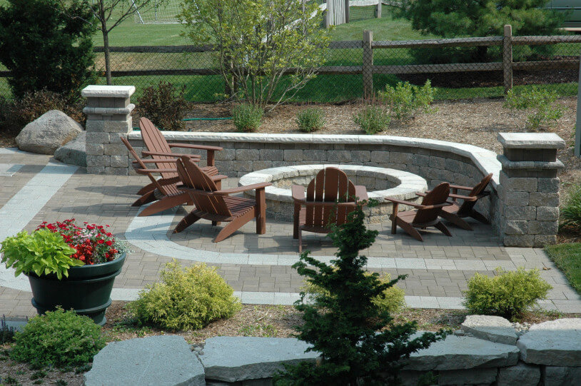 - Outdoor Fire Pits & Fireplaces By Foegly Landscape