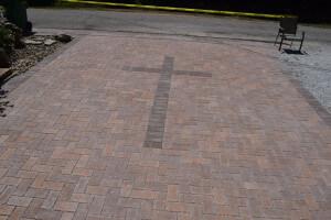 Unilock Eco Priora Permeable driveway